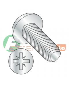 M2-0.4 x 5 mm Full Trilobe Thread Forming Screws / Pozi / Pan Head / Steel / Zinc / DIN7500C (Quantity: 4,000 pcs)