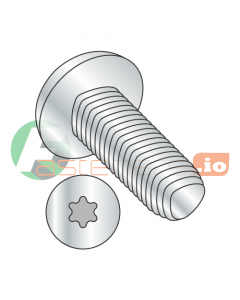 M2-0.4 x 5 mm Full Trilobe Thread Forming Screws / Six-Lobe (Torx) / Pan Head / Steel / Zinc / DIN7500CE (Quantity: 4,000 pcs)