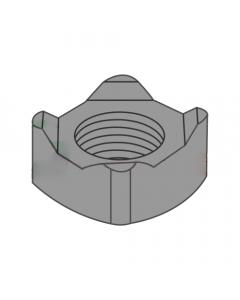M8-1.25 Square Weld Nuts / 4 Projections / Steel / Plain / DIN928 (Quantity: 3,000 pcs)