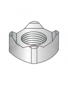 M5-0.8 Square Weld Nuts / 4 Projections / 18-8 Stainless Steel / DIN928 (Quantity: 2,000 pcs)