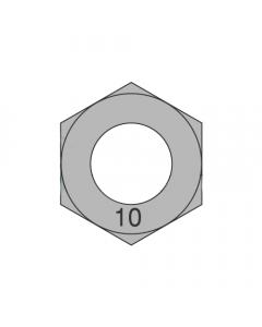 M6-1.00 Finished Hex Nuts / Metric Class 10 / Plain / DIN 934 (Quantity: 8000)