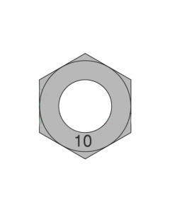 M22-2.50 Finished Hex Nuts / Metric Class 10 / Plain / DIN 934 (Quantity: 15)