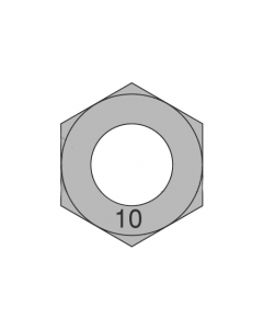 M90-4.00 Finished Hex Nuts / Metric Class 10 Steel / Plain Finish DIN 934 (Quantity: 5)