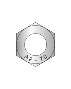 M2.5-0.45 Finished Hex Nuts / 18-8 Stainless Steel / DIN 934 (Quantity: 10000)