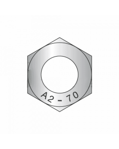 M30-3.50 Finished Hex Nuts / A2-70 Stainless Steel / DIN 934 (Quantity: 10)