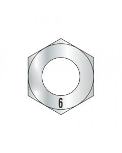 M2.5-0.45 Finished Hex Nuts / Metric Class 6 / Zinc / DIN 934 (Quantity: 15000)