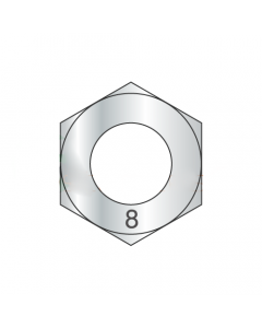 M18-2.5 Finished Hex Nuts / A4 Stainless Steel / DIN 934 (Quantity: 200)
