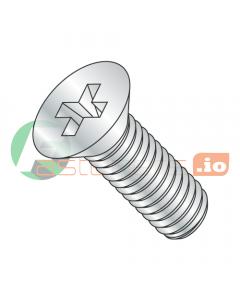 M3-0.5 x 35 mm Machine Screws / Phillips / Flat Head / Steel / Zinc / DIN965 (Quantity: 2,000 pcs)