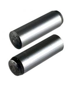 M10 x 14mm Dowel Pins DIN 6325  / Alloy Steel / Bright Finish (Quantity: 100 pcs)