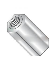 """1/4"""" OD Hex Standoffs (Female-Female) / 4-40 x 3/16"""" / Stainless Steel / Outer Diameter: 1/4"""" / Thread Size: 4-40 / Length: 3/16"""" (Quantity: 500 pcs)"""