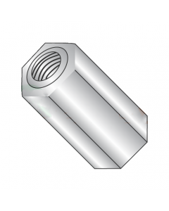 "3/16"" OD Hex Standoffs (Female-Female) / 4-40 x 1/2"" / Aluminum / Outer Diameter: 3/16"" / Thread Size: 4-40 / Length: 1/2"" (Quantity: 1,000 pcs)"