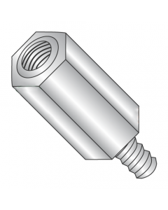"""1/4"""" OD Hex Standoffs (Male-Female) / 4-40 x 1 3/8"""" / Stainless Steel / Outer Diameter: 1/4"""" / Thread Size: 4-40 / Length: 1 3/8"""" (Quantity: 500 pcs)"""