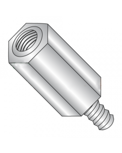 """3/8"""" OD Hex Standoffs (Male-Female) / 8-32 x 1/4"""" / Stainless Steel / Outer Diameter: 3/8"""" / Thread Size: 8-32 / Length: 1/4"""" (Quantity: 100 pcs)"""