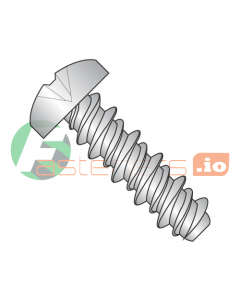 """#2 x 3/16"""" High Low Style Self Tapping Screws / Phillips / Pan Head / 410 Stainless Steel (Quantity: 10,000 pcs)"""