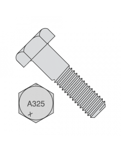 """7/8""""-9 x 3 1/2"""" A325 Structural Bolt Type 1 Heavy Hex Hot Dip Galvanized (Quantity: 270 pcs) Partially Threaded"""