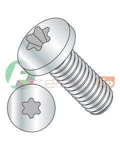 M5-0.8 x 16 mm Machine Screws / Six-Lobe (Torx) / Pan Head / Steel / Class 8.8 / Zinc / ISO14583 (Quantity: 5,000 pcs)