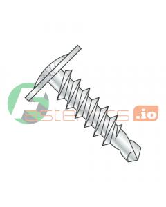 """#4 x 3/8"""" Self-Drilling Screws / Phillips / Modified Truss Head / Steel / Zinc / #2 Drill Point (Quantity: 7,000 pcs)"""