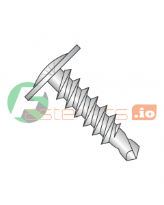 """#6 x 3/8"""" Self-Drilling Screws / Phillips / Modified Truss Head / 18-8 Stainless Steel / #2 Drill Point (Quantity: 4,000 pcs)"""