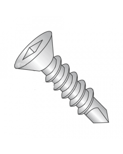 "#10 x 1 13/16"" Self-Drilling Screws / Square / Flat Head / Steel / Climaseal Finish / #3 Point (Quantity: 2500 pcs)"