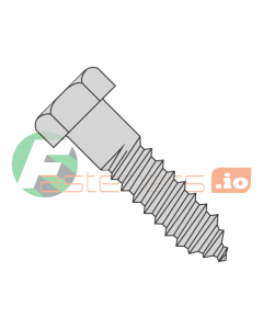 """3/8"""" x 1"""" Lag Screws / Steel / Hot Dip Galvanized (Quantity: 500 pcs)"""