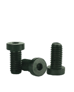 Socket Low Head Cap Screw, M6-1.0 x 16mm, Alloy Steel, Metric Class 8.8, Black Oxide, Hex Socket (Quantity: 100)