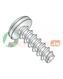 "#2 x 3/16"" Thread Forming Screws 48-2 Trilobe / Phillips / Pan Head / Steel / Zinc (Quantity: 10,000 pcs)"