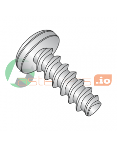 "#2 x 1/4"" Thread Forming Screws 48-2 Trilobe / Phillips / Pan Head / 18-8 Stainless Steel (Quantity: 5,000 pcs)"