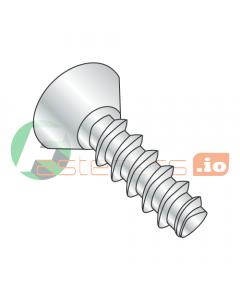 "#4 x 1/2"" Thread Forming Screws 48-2 Trilobe / Phillips / Flat Undercut Head / Steel / Zinc (Quantity: 10,000 pcs)"