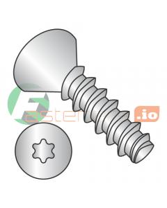 """#2 x 3/8"""" Thread Forming Screws 48-2 Trilobe / Six-Lobe (Torx) / Flat Head / 18-8 Stainless Steel (Quantity: 5,000 pcs)"""