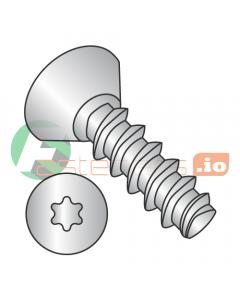 """#2 x 3/16"""" Thread Forming Screws 48-2 Trilobe / Six-Lobe (Torx) / Flat Undercut Head / 18-8 Stainless Steel (Quantity: 4,000 pcs)"""