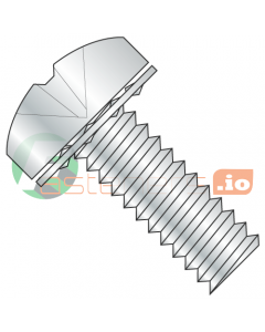 M4-0.7 x 10 mm SEMS Screws / Internal Tooth Washer / Phillips / Pan Head / Steel / Zinc / ISO7045 (Quantity: 5,000 pcs)