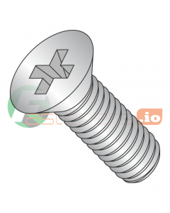 M5-0.8 x 20 mm Machine Screws / Phillips / Flat Head / 18-8 Stainless Steel / DIN965 (Quantity: 750 pcs)