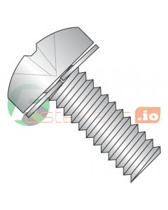 M4-0.7 x 12 mm SEMS Screws / Split Lock Washer / Phillips / Pan Head / 18-8 Stainless Steel / DIN127B / DIN127B (Quantity: 4,000 pcs)
