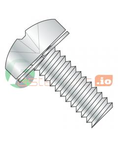 M4-0.7 x 10 mm SEMS Screws / Split Lock Washer / Phillips / Pan Head / Steel / Zinc / DIN7985A Screw with DIN6905 Split Spring Lockwasher (Quantity: 8,000 pcs)