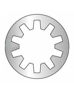 M2.5 Internal Tooth Lock Washers / 18-8 Stainless Steel / DIN6797J (Quantity: 10,000 pcs)