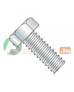 "3/8-16 x 1"" Machine Screws / Unslotted / Hex Head / Steel / Zinc (Quantity: 750 pcs)"