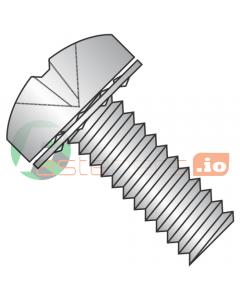 M4-0.7 x 10 mm SEMS Screws / Internal Tooth Washer / Phillips / Pan Head / Stainless Steel / ISO7045 / Screw: 18-8 Stainless, Washer: 410 Stainless (Quantity: 2,000 pcs)