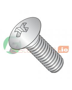 "2-56 x 1/4"" Machine Screws / Phillips / Oval / 18-8 Stainless Steel (Quantity: 5,000 pcs)"