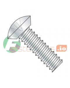 """10-32 x 1/4"""" Machine Screws / Phillips / Oval Undercut Head / Steel / Zinc (Quantity: 10,000 pcs)"""