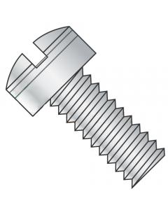 "MS35265-4 / 2-56 x 5/16"" Mil-Spec Machine Screws / Slotted / Fillister / Steel / Cadmium / Drilled Head (Quantity: 500 pcs)"