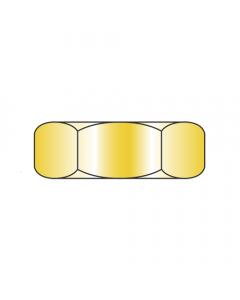 MS35649-242 / 4-40 Mil-Spec Machine Screw Nuts / Steel / Cad Yellow (Quantity: 1,000 pcs)