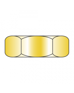 MS35650-302 / 10-32 Mil-Spec Machine Screw Nuts / Steel / Cad Yellow (Quantity: 1,000 pcs)