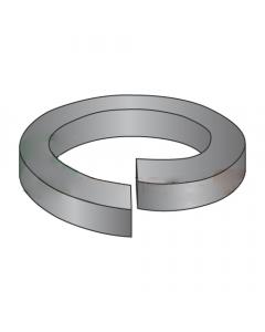 MS51848-27 / #6 Mil-Spec High Collar Split Lock Washers / Steel / Black Phosphate (Quantity: 10,000 pcs)