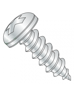 """MS51861-65 / #14 x 1/2"""" Mil Spec Type AB Self Tapping / Phillips / Pan / Steel / Cad (Quantity: 1,000 pcs)"""