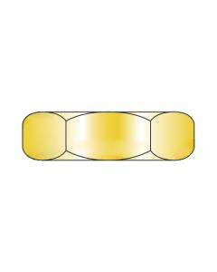MS51967-17 / 9/16-12 Mil-Spec Finished Hex Nuts / Grade B / Cad Yellow / DFAR Compliant (Quantity: 250 pcs)
