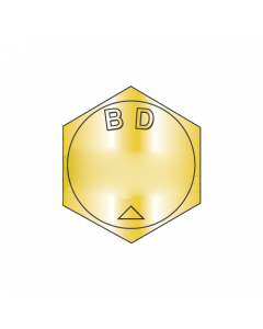 """BH063F138N / 5/8-18 x 1 3/8"""" Mil-Spec Hex Cap Screws / Alloy Steel Grade-BD / Zinc Yellow / DFAR Compliant / Supersedes MS 90727 / ASME B18.2.1BH (Quantity: 200 pcs)"""