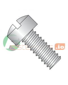 """0-80 x 1/4"""" Machine Screws / Slotted / Fillister Head / 18-8 Stainless Steel (Quantity: 5,000 pcs)"""