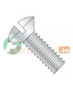 "3/8-16 x 1 1/2"" Machine Screws / Slotted / Oval / Steel / Zinc (Quantity: 750 pcs)"