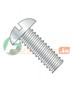 "5/16-18 x 5"" Machine Screws / Slotted / Round Head / Steel / Zinc (Quantity: 300 pcs)"