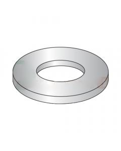 NAS1149-CN816R / #8 Mil-Spec Flat Washers / 0.016 Thk / 18-8 Stainless Steel / DFAR Compliant (Quantity: 10,000 pcs)